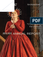 Canadian Opera Company Annual Report 2013/2014