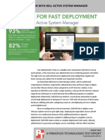 Deploy services faster with Dell Active System Manager