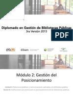 Instituciones Que Promueven El Posicionamiento de Las BP