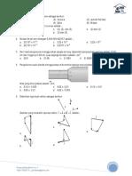 Latihan UTS Semester I 2015 - Fisika X IPA