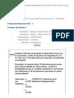 100402_ Evaluación Nacional 2012 - 1 PROBABILIDAD