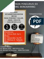 Poster Seminar Bengkayang