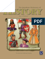 Questions Dictionary of History