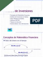 Análisis de Inversiones HG