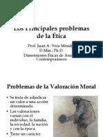 Los Principales Problemas de La Etica- Agosto 2010