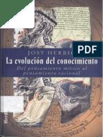 Herbig Jost - La Evolucion Del Conocimiento.pdf