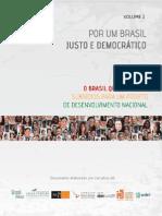Por um Brasil Justo e Democrático - Volume 2 - Íntegra