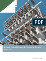 Power Capacitors Capacitor and Banks En