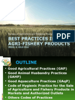 Best Practices in Perishable Agri-fishery Commodities