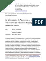 Articulo - Eft Cientifico Ep-feinstein