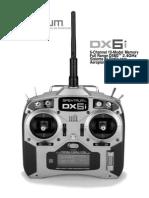 Spektrum DX6i Manual Español