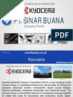 Company Profile Sinarbuana - KYOCERA