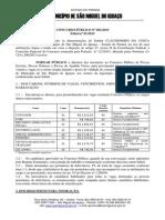 Edital Concurso Sao Miguel