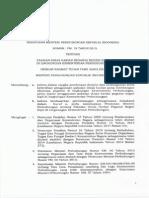 PM 19 Tahun 2015 Ttg PDH PNS Kementerian Perhubungan Terbaru