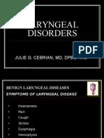 Diseases of the Larynx