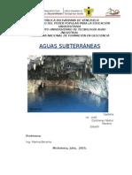 Conservación Aguas Subterráneas