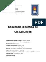 Secuencia Naturales Primer Ciclo los materiales