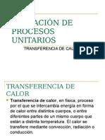 Operación de Procesos Unitarios