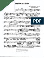 Debussy Rhapsodie - Rousseau