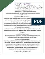 Teks Doa Upacara Bendera Smpn 22 Btm