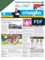 Edicion Impresa El Siglo 08-10-2015