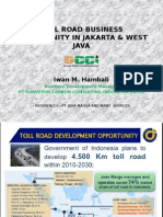 Toll Road Business Opportunity in Jakarta & West Java