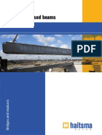 Long Prestressed Beams
