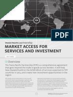 TPP Factsheet Market Access Service Investment