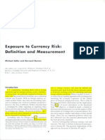 Exposure to Currency Risk, Definition and Measurement (1)