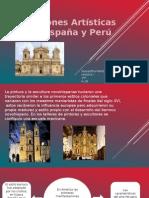 Las Expreciones Artisticas de Nueva España y Peru