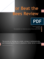 For Beat the Bees Review v2.0