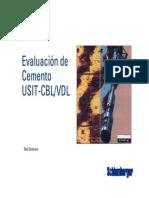 Evaluacion de Cemento USIT CBL