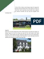 Jenis-jenis style/langgam arsitektur