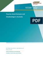 Poverty Social Exclusion and Disadvantage Australia