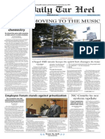 The Daily Tar Heel for Oct. 8, 2015