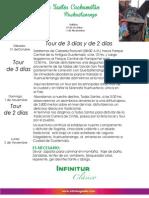 Itinerario Todos Santos Cuchumatán 2015