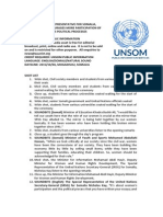 UN SPECIAL REPRESENTATIVE FOR SOMALIA, NICHOLAS KAY, ENCOURAGES MORE PARTICIPATION OF WOMEN IN SOMALIA'S POLITICAL PROCESSES