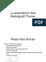 Radioanatomi Dan Radiografi Thorax