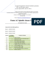 Fanuc AC Spindle Alarm Codes