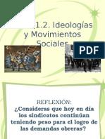 Tema 1.2. Ideologías y Movimientos