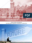 Building World Class Career Education and Guidance in Independent Schools