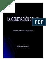Lg-la Generación Del 27