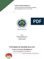 TEORI-TEORI PENDIDIKAN (TEORI KOGNITIF, TEORI PENDIDIKAN HUMANISME, TEORI PENDIDIKAN BEHAVIORISME, TEORI PENDIDIKAN KONSTRUKTIVISME, .pdf
