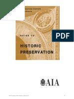 A i a Historic Preservation