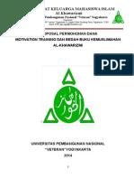 Takmir Masjid Sarbini - Proposal Permohonan Dana