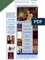 Crossett Library News Spooky Edition October 2009