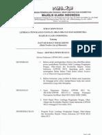 Lampiran 1 - SK07.I.2013 - Daftar Bahan Tidak Kritis (Halal Positive List of Materials)