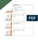 Grapheme Actions