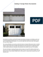 The Mishaps Of Obtaining A Garage Doors Sacramento