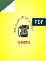 Telephone Protocols